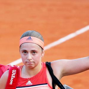 Flustered Champion Ostapenko falls at first French Open hurdle