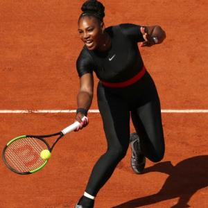 New mum Serena back in the Grand Slam groove