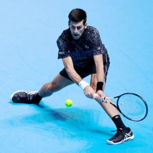 ATP Finals: Djokovic outplays younger Zverev