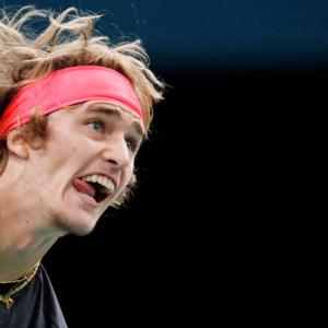 How Federer has had a hand in Zverev's recent successes