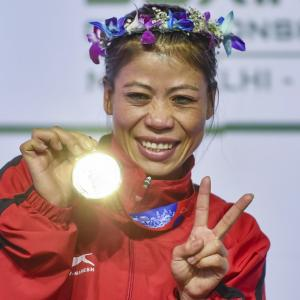 Boxing Worlds: Mary Kom wins historic 6th GOLD, Sonia bags silver