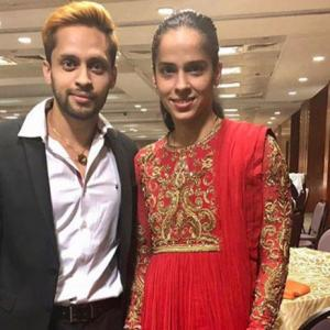 Check out Saina Nehwal's wedding card