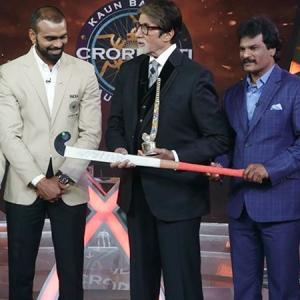 Hockey Team set KBC hot seat on fire with Sr Bachchan