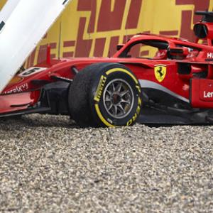 What went wrong for Ferrari's Vettel this season