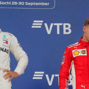Hamilton v Vettel, the Formula One season so far