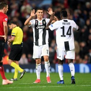 Champions League PIX: Juventus down United; City and Real win