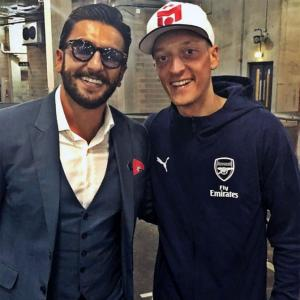 I'd love to travel to India and meet Ranveer: Arsenal star Ozil