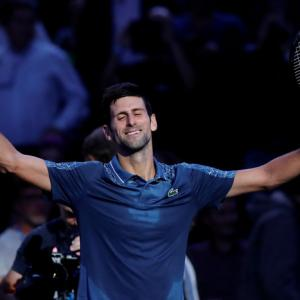Djokovic back as No. 1 after Nadal withdraws in Paris
