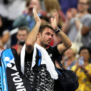 US Open: What went wrong for ousted Wawrinka
