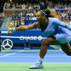 Serena used THIS twist to reach final