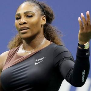 Serena hit with $17,000 fine for US Open outburst