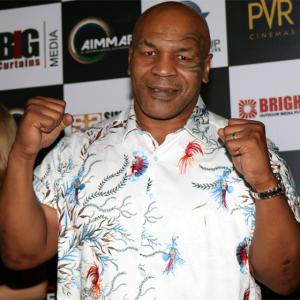 PHOTOS: What brings boxing legend Mike Tyson to India