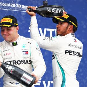 F1 PIX: Hamilton wins Russian GP to go 50 points clear