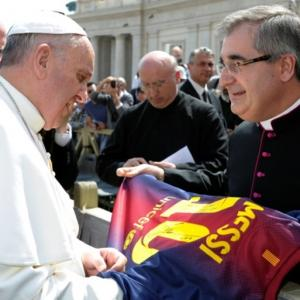 'He's great but he's not God': Pope on Messi