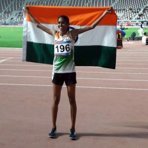 Asian Athletics: Chitra wins gold; India finish 4th