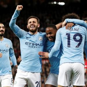 EPL: City take big step towards title with derby win