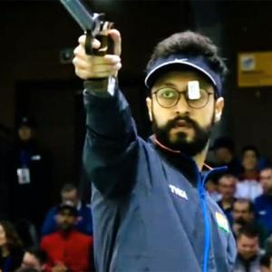 Abhishek shoots World Cup gold, bags Olympic quota