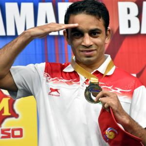 Boxing sensation Panghal nominated for Arjuna again