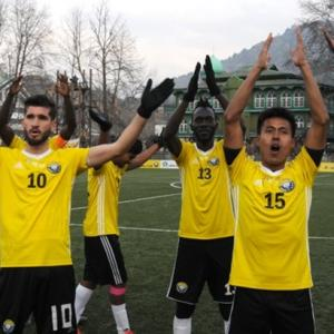 Worried about home but Kashmir players focus on Durand