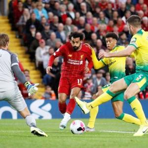 PICS: Liverpool rout Norwich in Premier League opener
