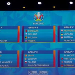 Portugal, France, Germany in Euro 2020 super group