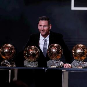 PICS: Messi wins record sixth Ballon d'Or