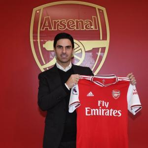 Former captain Arteta named Arsenal's head coach
