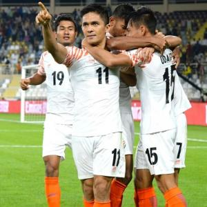 Chhetri remains modest after going past Messi