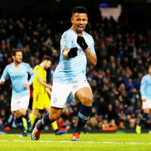 League Cup: Jesus stars as City thrash Burton 9-0