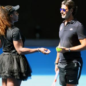 Serena mentor says won't do any on-court coaching