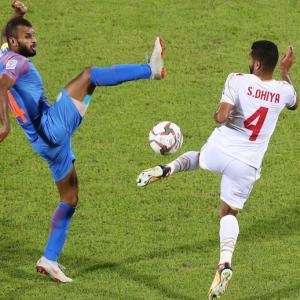Heartbreaking! India crash out of Asian Cup
