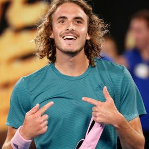 Greek wunderkind Tsitsipas knocks out defending champ Federer