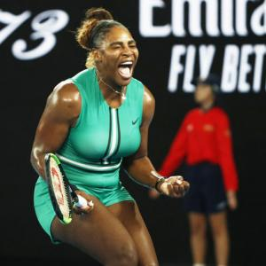Aus Open PIX: Serena edges past Halep; Raonic downs Zverev