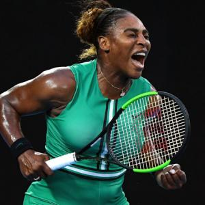 Serena back to physical and emotional best