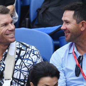 Spotted! Celebrities at Australian Open