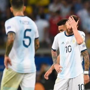 Another international title eludes Messi