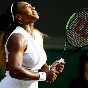 Serena survives Fourth of July test by student