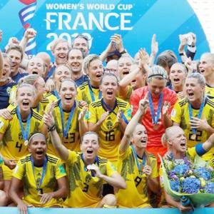 Sweden beat England to clinch 3rd place at women's WC
