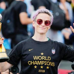 Rapinoe to Trump: 'Your message is excluding people'
