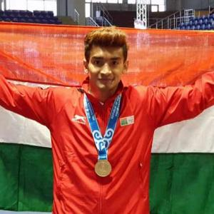 Boxer Thapa wins historic gold at President's Cup