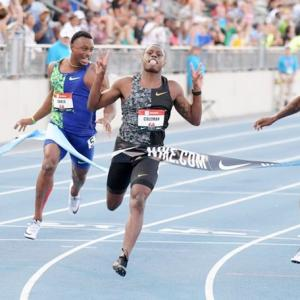Coleman wins US 100m title with sub-10 second run