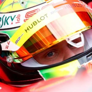 Like father, like son: Schumi's Ferrari perfect for Mick