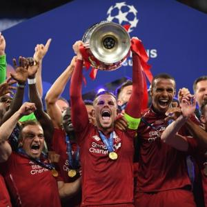 Liverpool beat Tottenham 2-0 to win Champions League