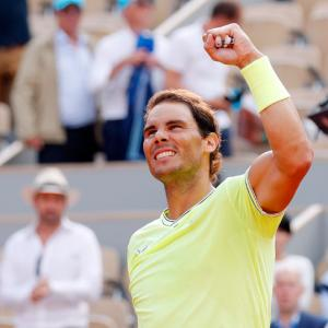 French Open PIX: Rafa sets up Federer semis showdown