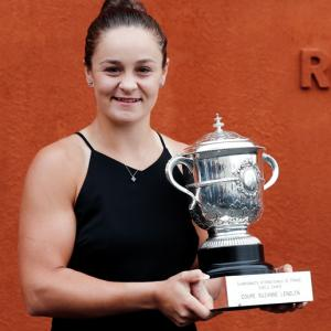 French Open trophy gaffe gives Australia another champ