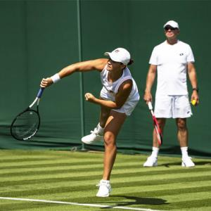 Wimbledon: Barty to take it one match at a time