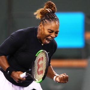 Tennis Round-up: Stephens stunned, Serena cruises at Indian Wells