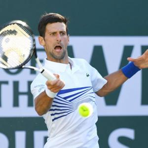 Djokovic ready to move on after Indian Wells ouster