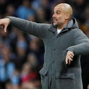 Man City's Guardiola makes surprise Champions League admission
