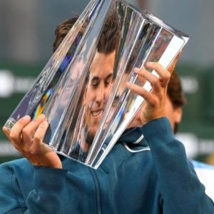 Indian Wells: Thiem topples Federer to win title; Andreescu stuns Kerber